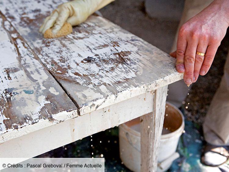 Comment d caper un meuble en 2020 comment d caper un Astuce pour decaper un meuble en bois