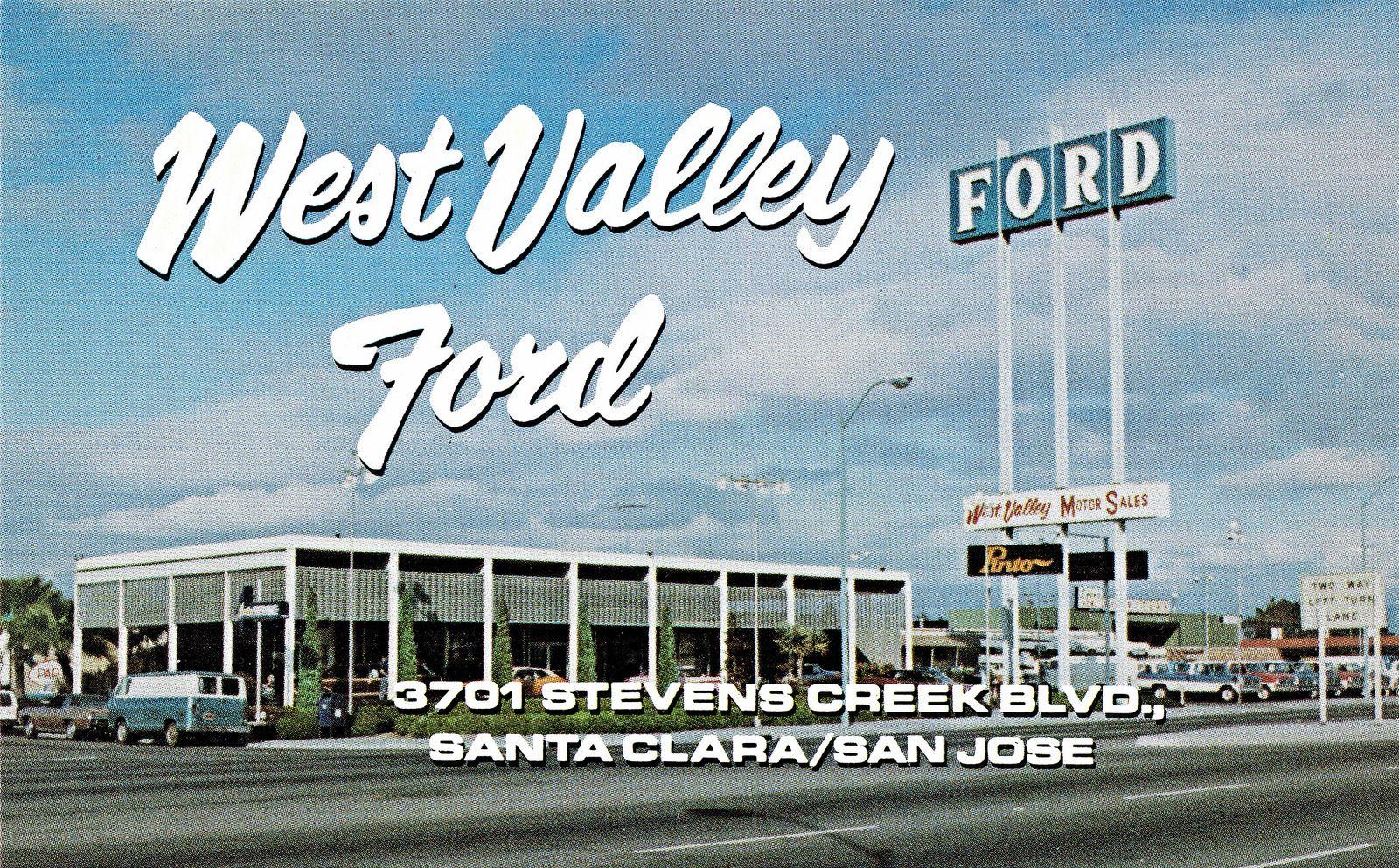 1971 west valley ford dealership santa clarasan jose