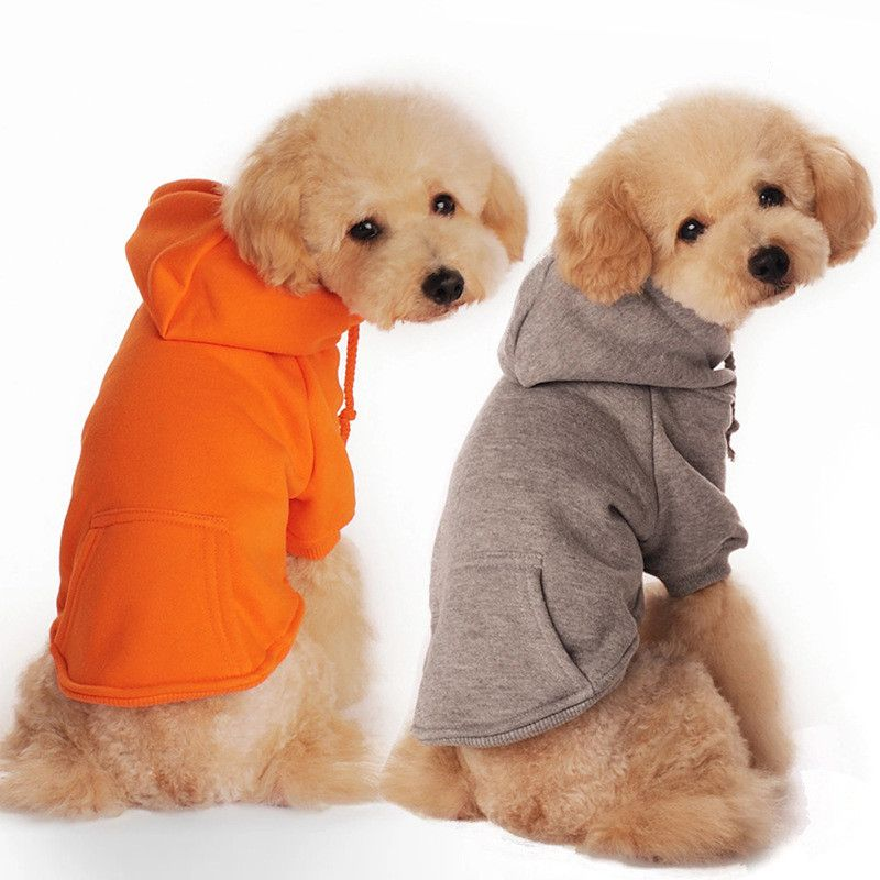 09db7b6f6292 New Autumn winter Pet Dog Clothes 100% Cotton Four Feet Warm Jackets for  Small