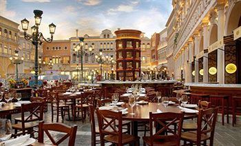 The Grand C S At Venetian Las Vegas Lots Of Good Restaurants In Here Including Postrio Wolfgang Puck Otto Mario Battali And Cetto