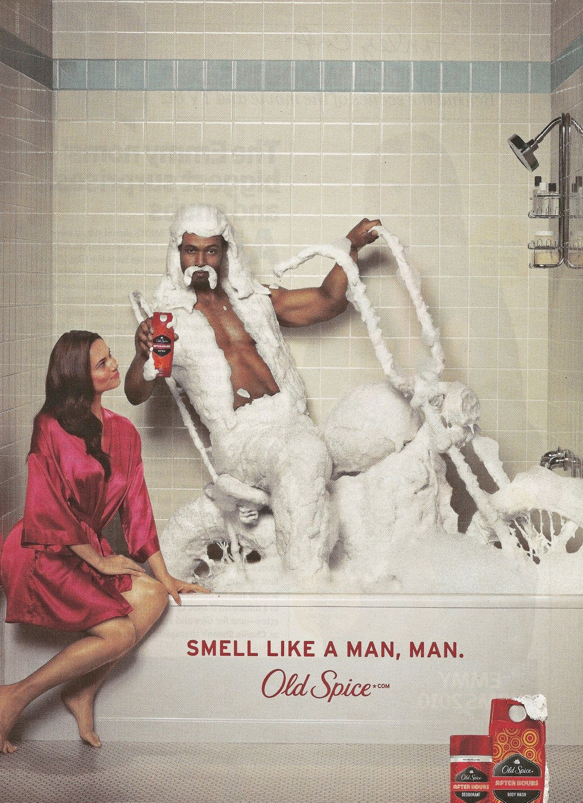 advertising the old spice ad campaign Viral marketing campaigns are an this made old spice the three also created the ponymixer which allowed users to create their own version of the ad.