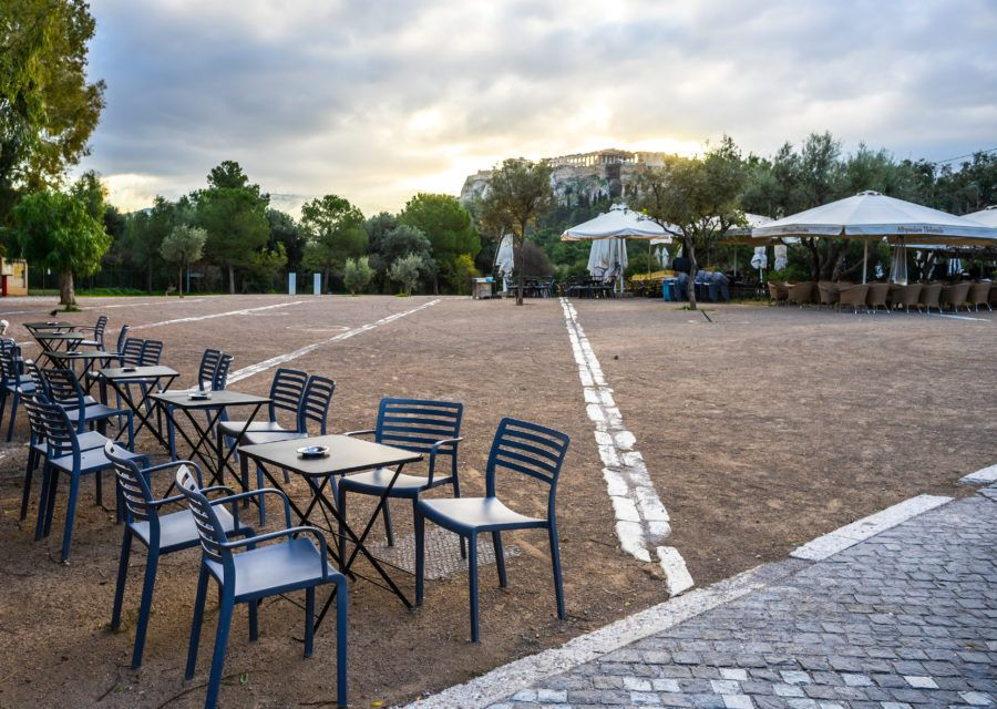 Watch a Film at the Open Air Cinema in Athens in 2020
