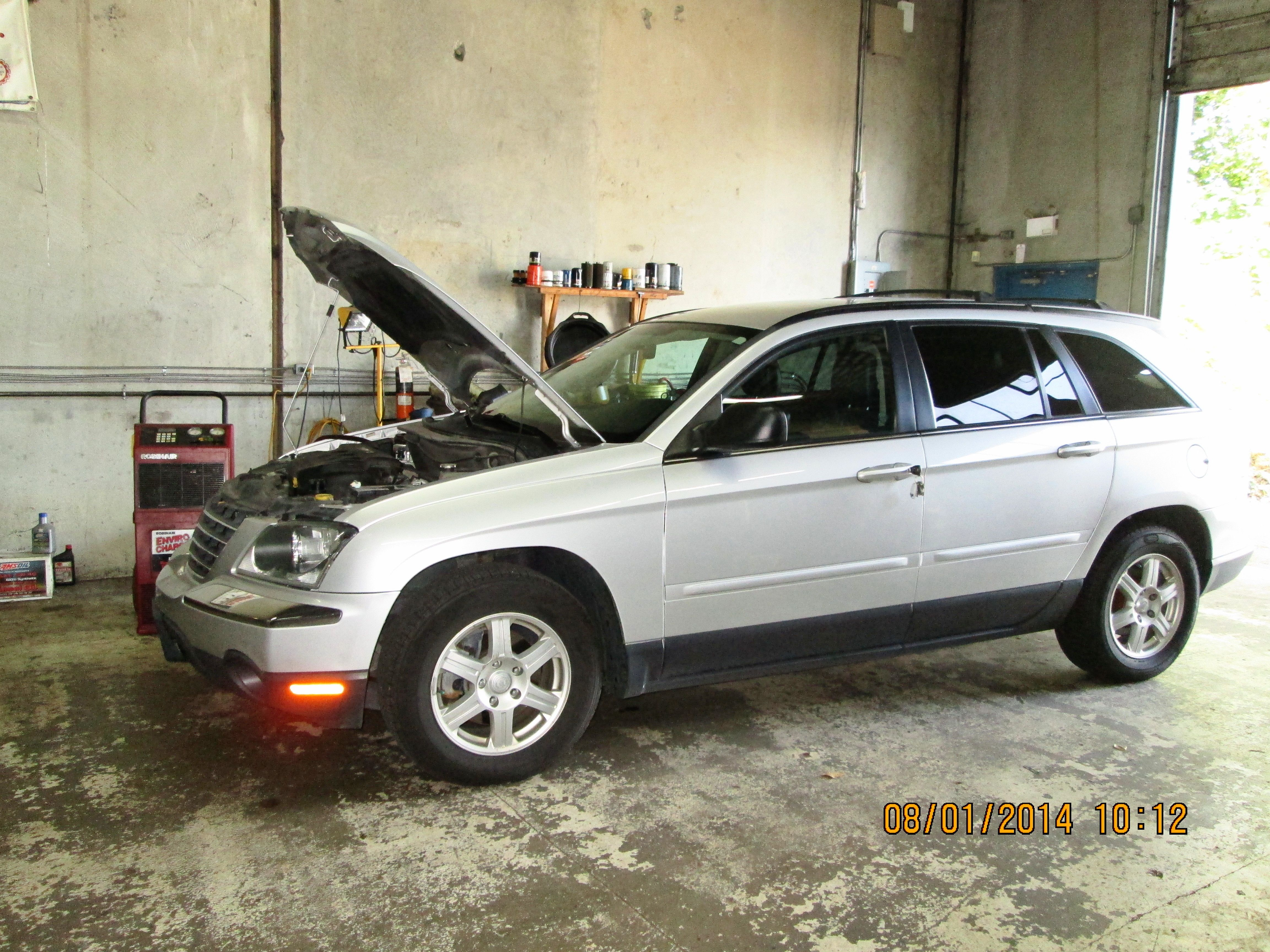 2006 Chrysler Pacifica In For Ac Check And Recharge Chrysler