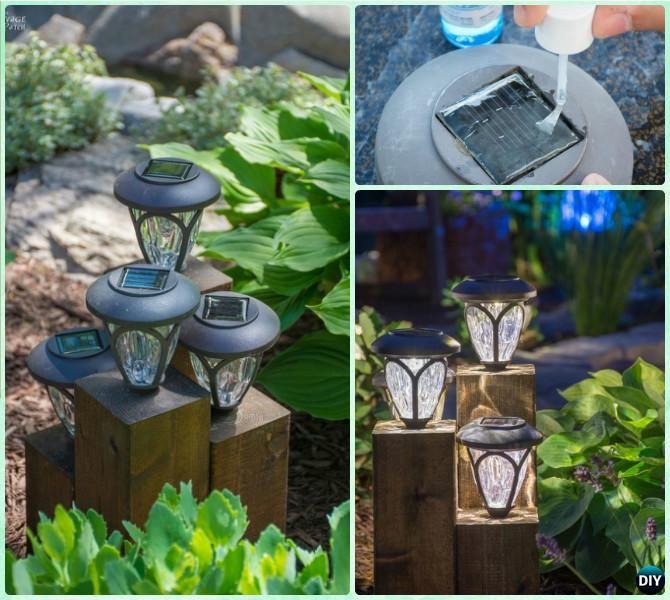 Outdoor Lighting Ideas Solar: DIY Solar Light Craft Ideas For Home And Garden Lighting