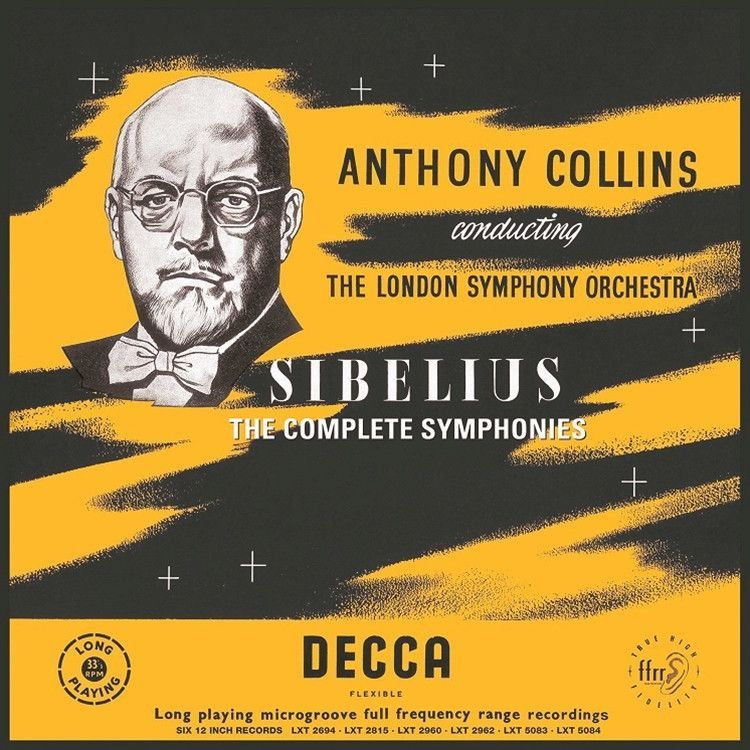 Sibelius: The Complete Symphonies - Anthony Collins - The London Symphony Orchestra on Numbered Limited Edition 180g 6LP Box Set (Awaiting Repress)