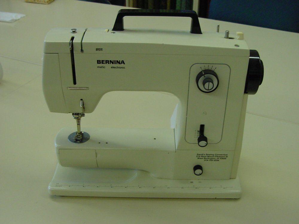 Historical BERNINA Sewing Machines I Found My Bernina Model 40 Magnificent Bernina Sewing Machine Model History