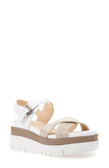 33fd4ce1b5bd GEOX RADWA PLATFORM SANDAL.  geox  shoes