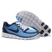 Nike Free 5.0 V4 Herren schuhe blau schwarz