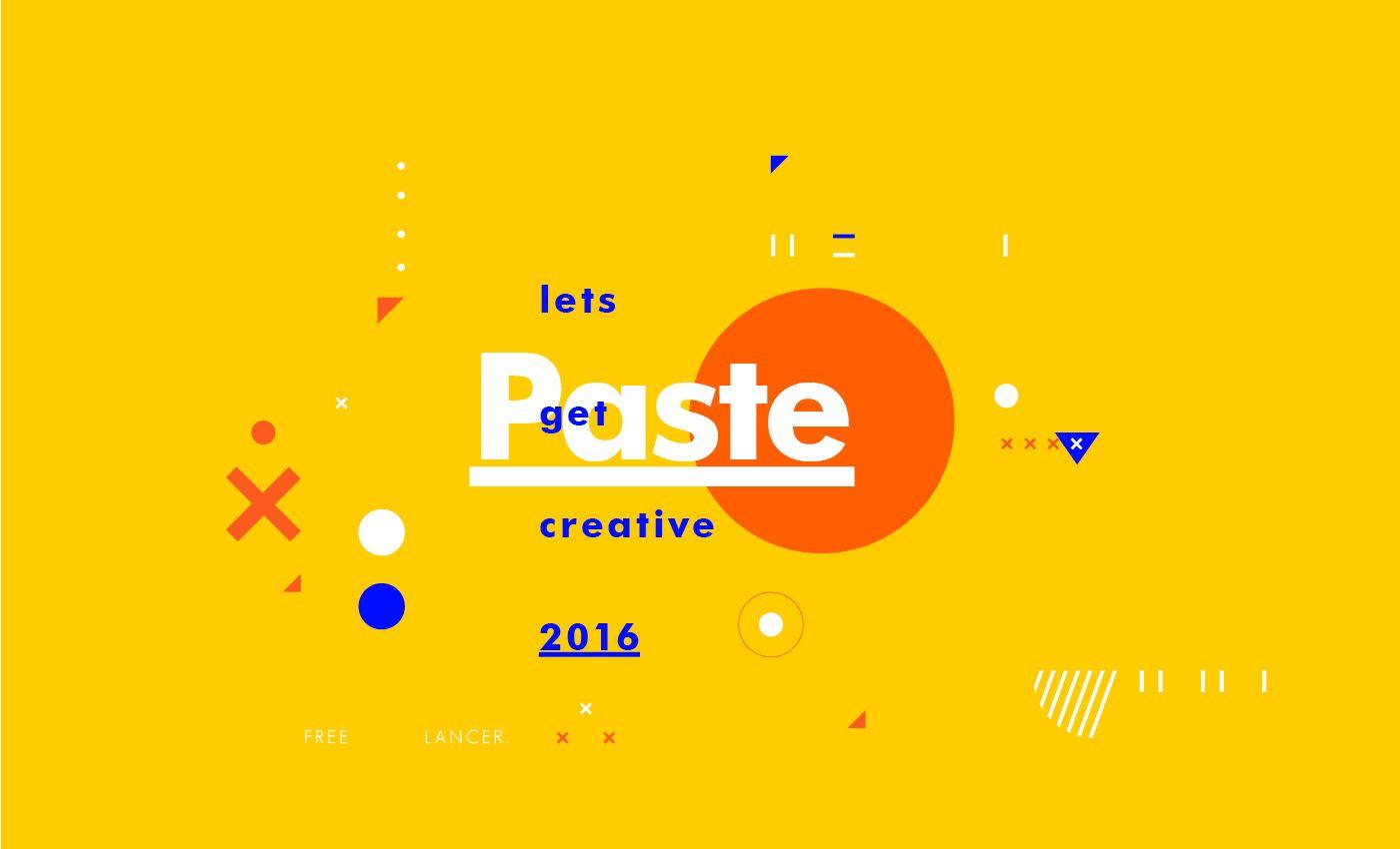 Let's Get Creative 2016 | Abduzeedo Design Inspiration