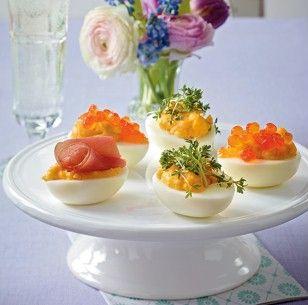 Pikante Eiernester