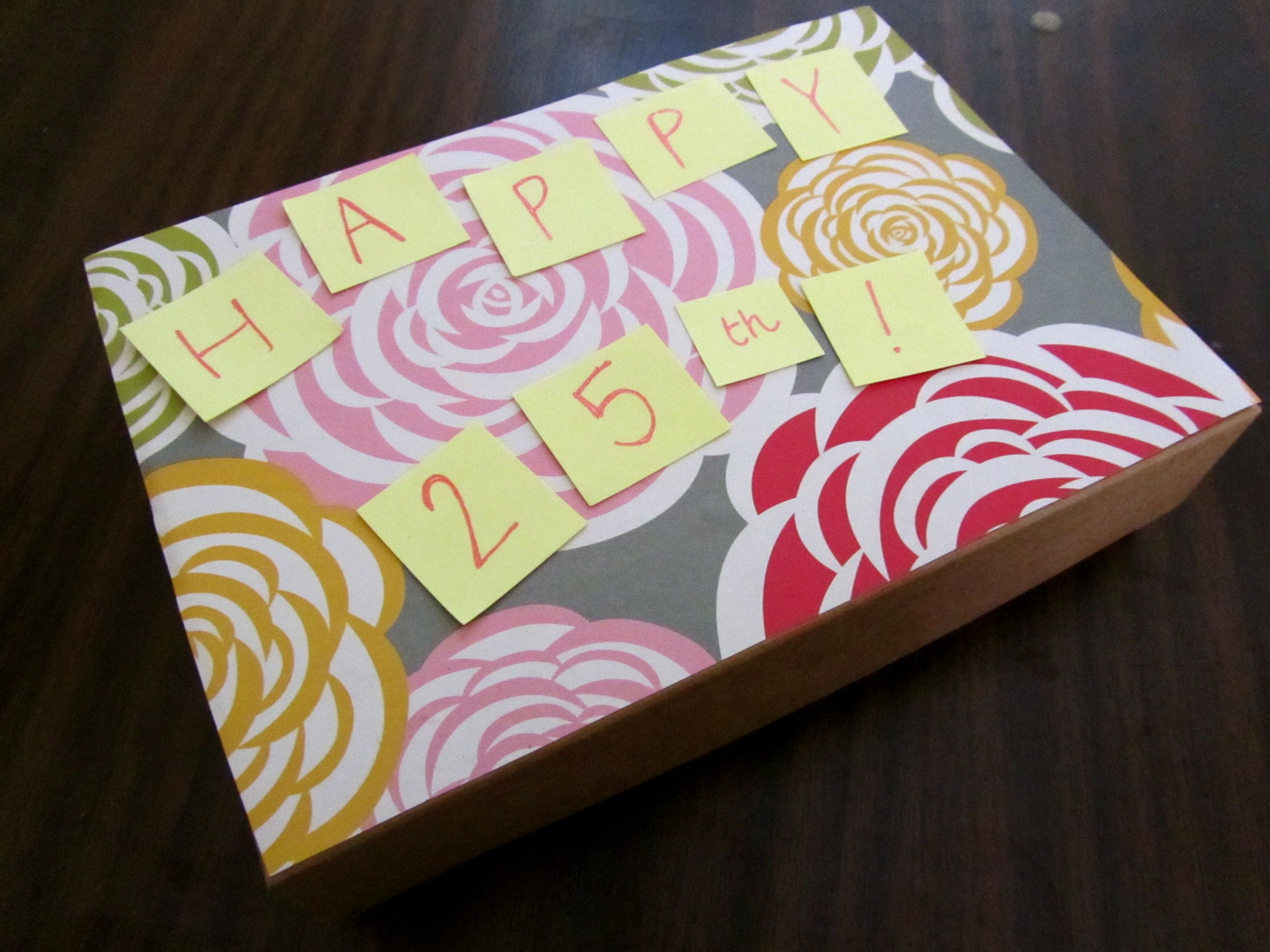 Birchbox Reuse Easy Craft Birthday Box Birch Gift Packaging Wrapping