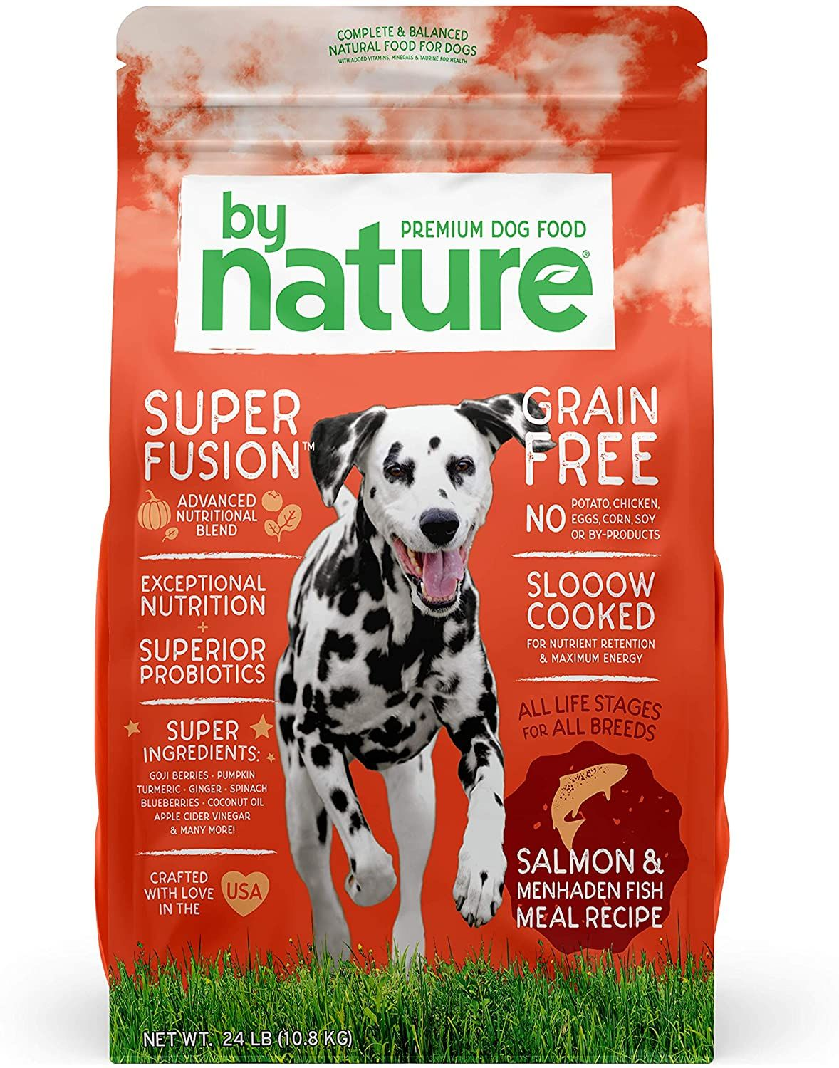 By Nature Pet Foods Grain Free Dog Food Made In Usa Grain Free Dry Dog Food With Superfood Ingredien In 2021 Dog Food Recipes Dog Food Reviews Premium Dog Food