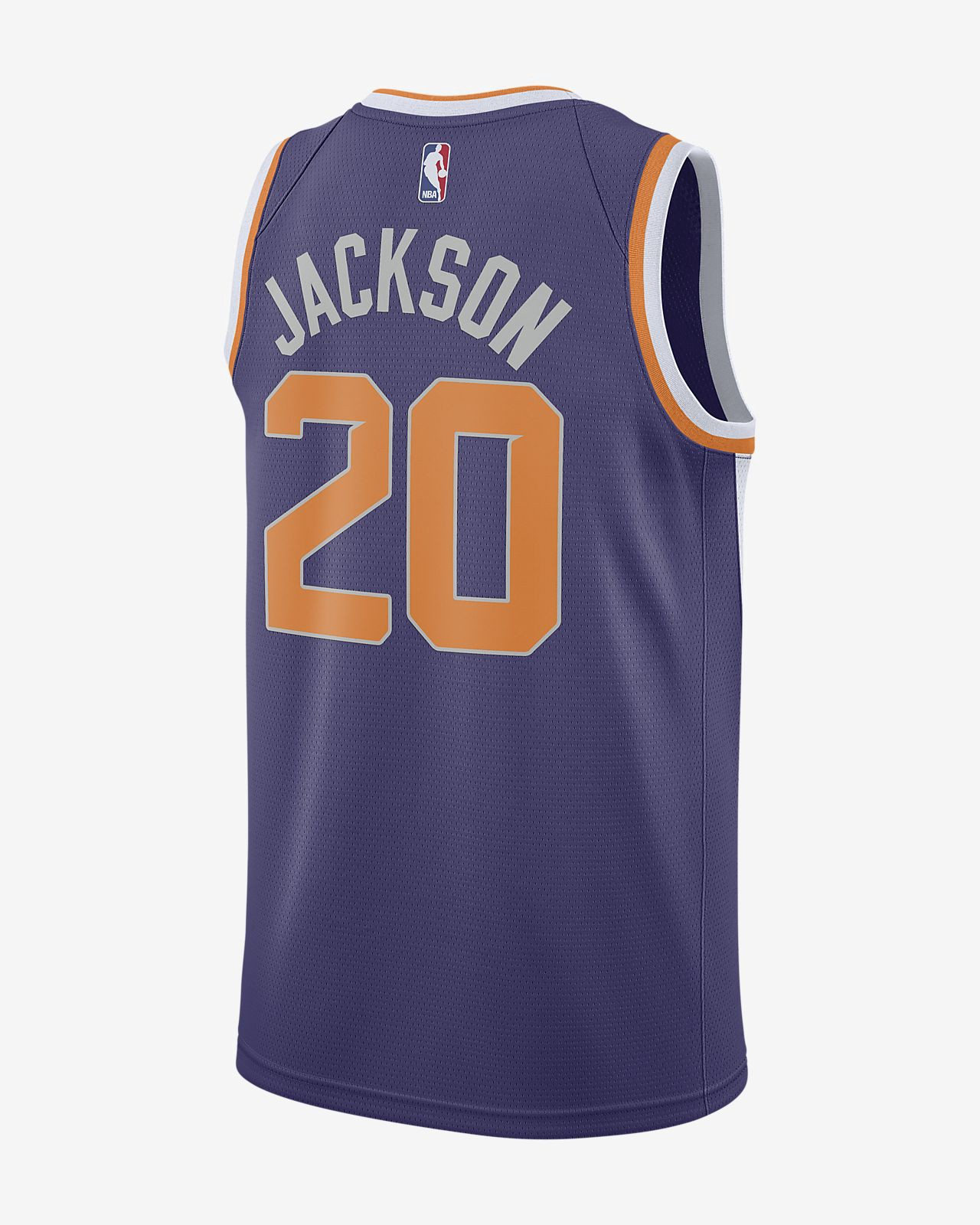 5ddb5791f694 Nike Josh Jackson Icon Edition Swingman Jersey (Phoenix Suns) Men s Nba  Connected - 2Xl (56)