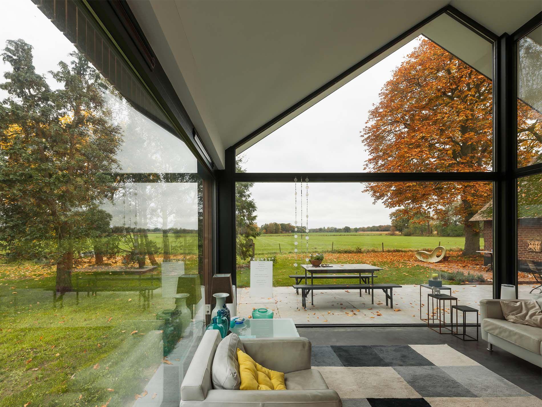 Maas Architecten » uitbreiding boerderij laren