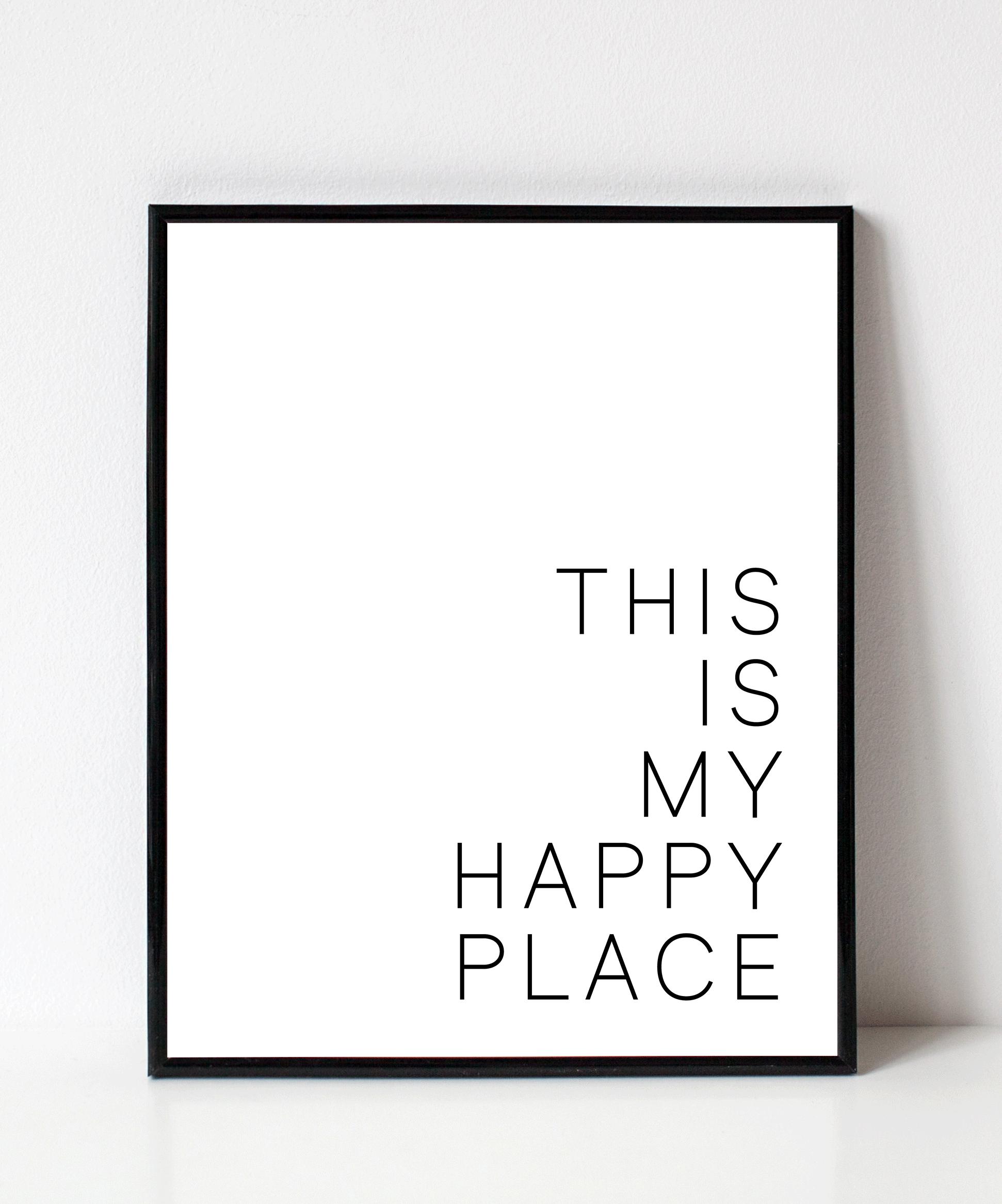 This Is My Happy Place Wall Art Disenos De Unas Interiores