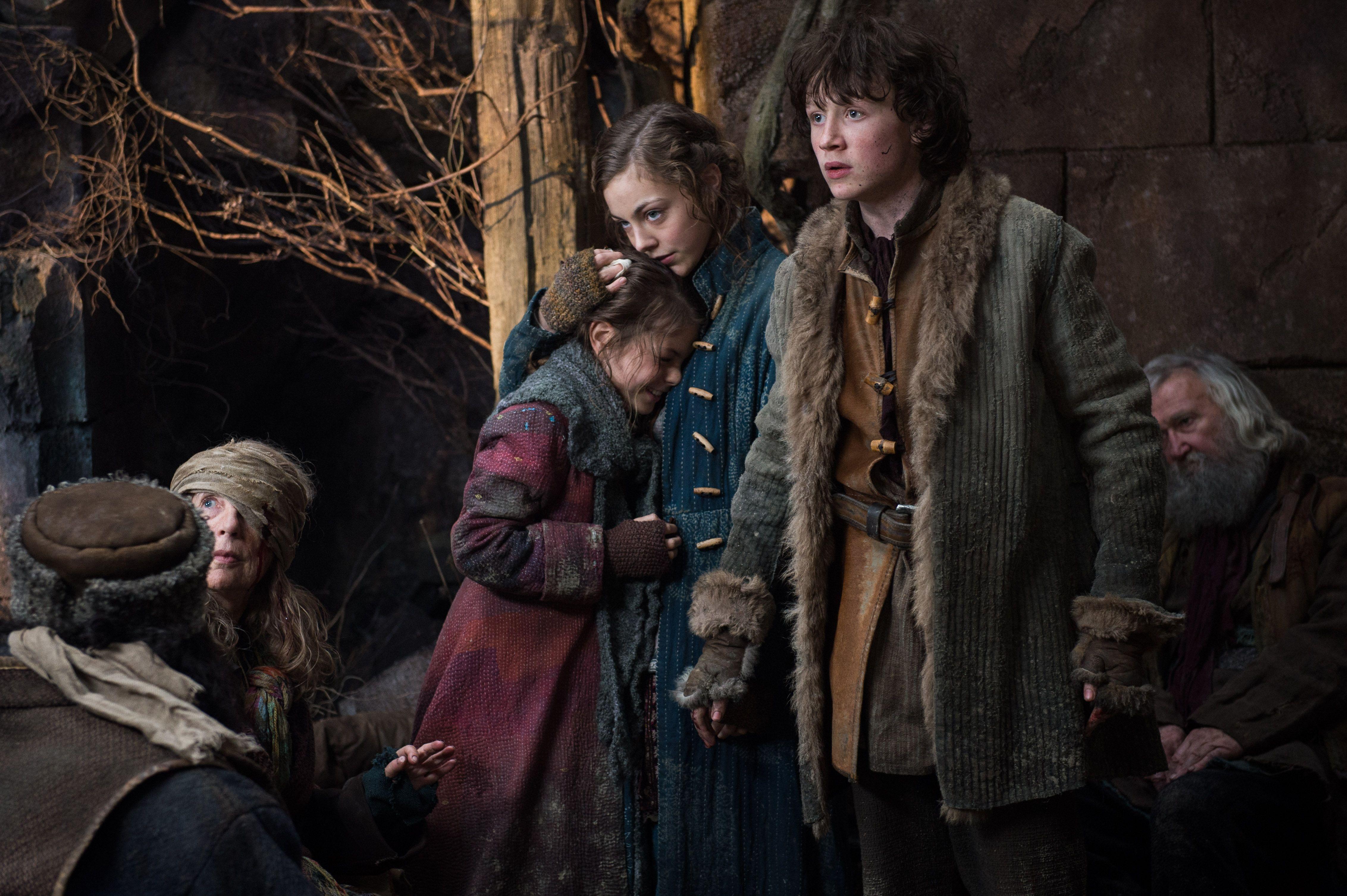 Bain, Sigrid, And Tilda, Children Of Bard The Bowman