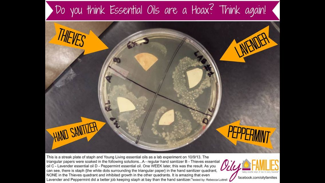 Young living essential oils - check out the results of this lab testing!