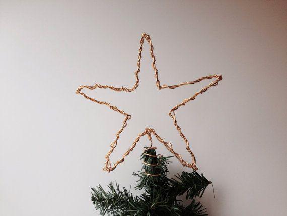 Disordered Christmas Tree Topper aluminum star on Etsy, $2427