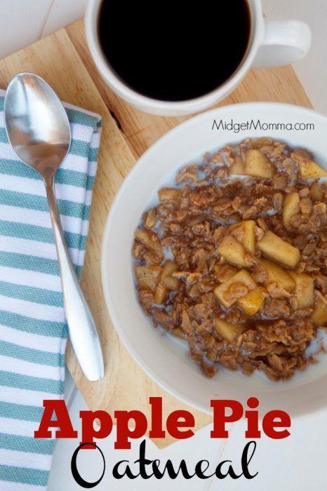 Apple Pie Oatmeal 4 Freestyle Points Apple Pie Oatmeal