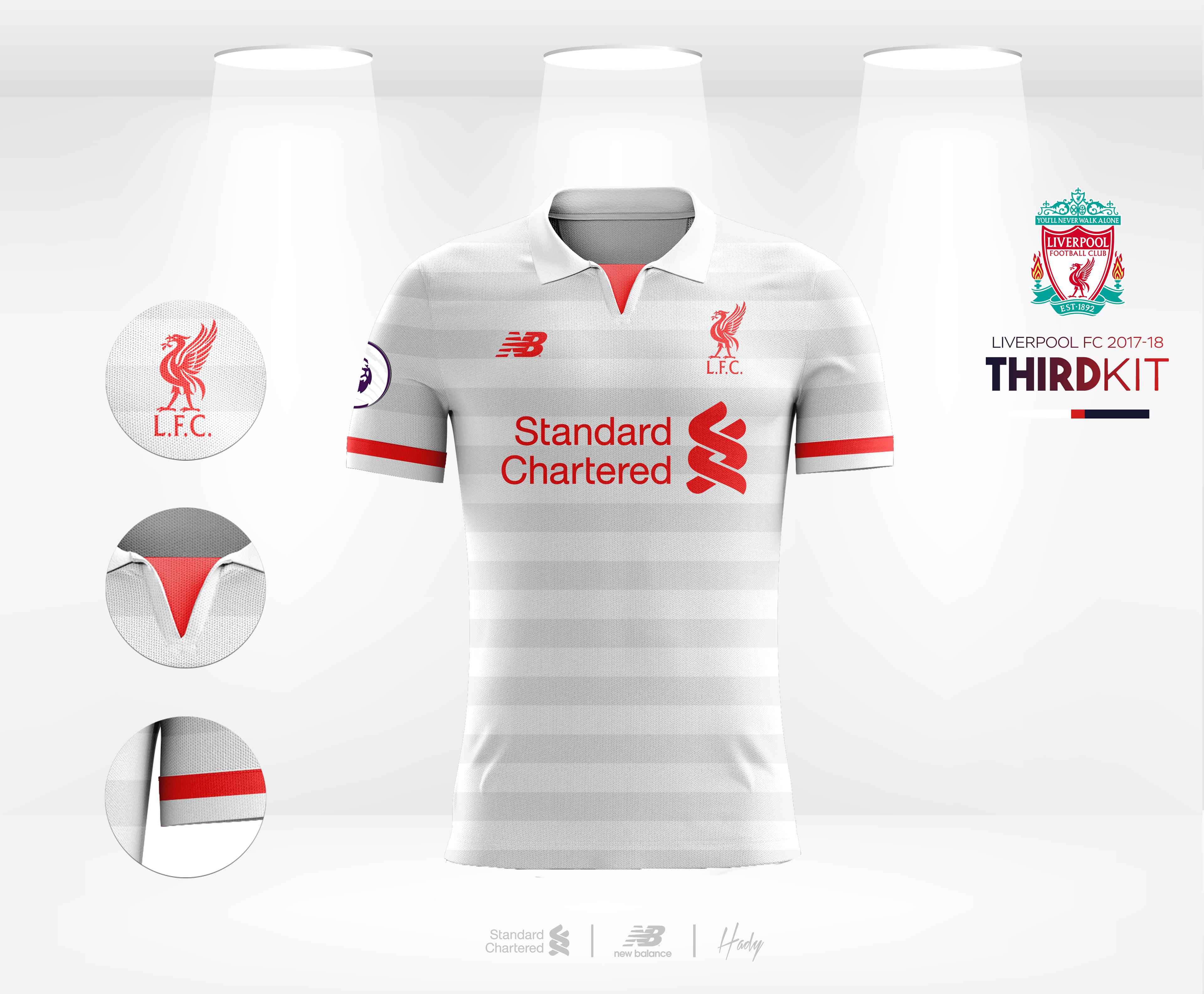 Liverpool Football Club 2017-18 Kits Concept.  222826075f5d8
