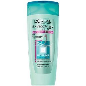 Hair Expert Extraordinary Clay Shampoo For Oily To Combination Hair By L 39 Oreal Clay Shampoo That Purifies Oily Shampoo Best Clarifying Shampoo Oily Roots