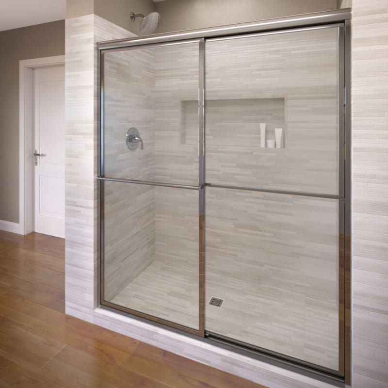 Three Panel And Up Frameless Shower Doors Half Wall Shower Bathroom Shower Panels Shower Doors
