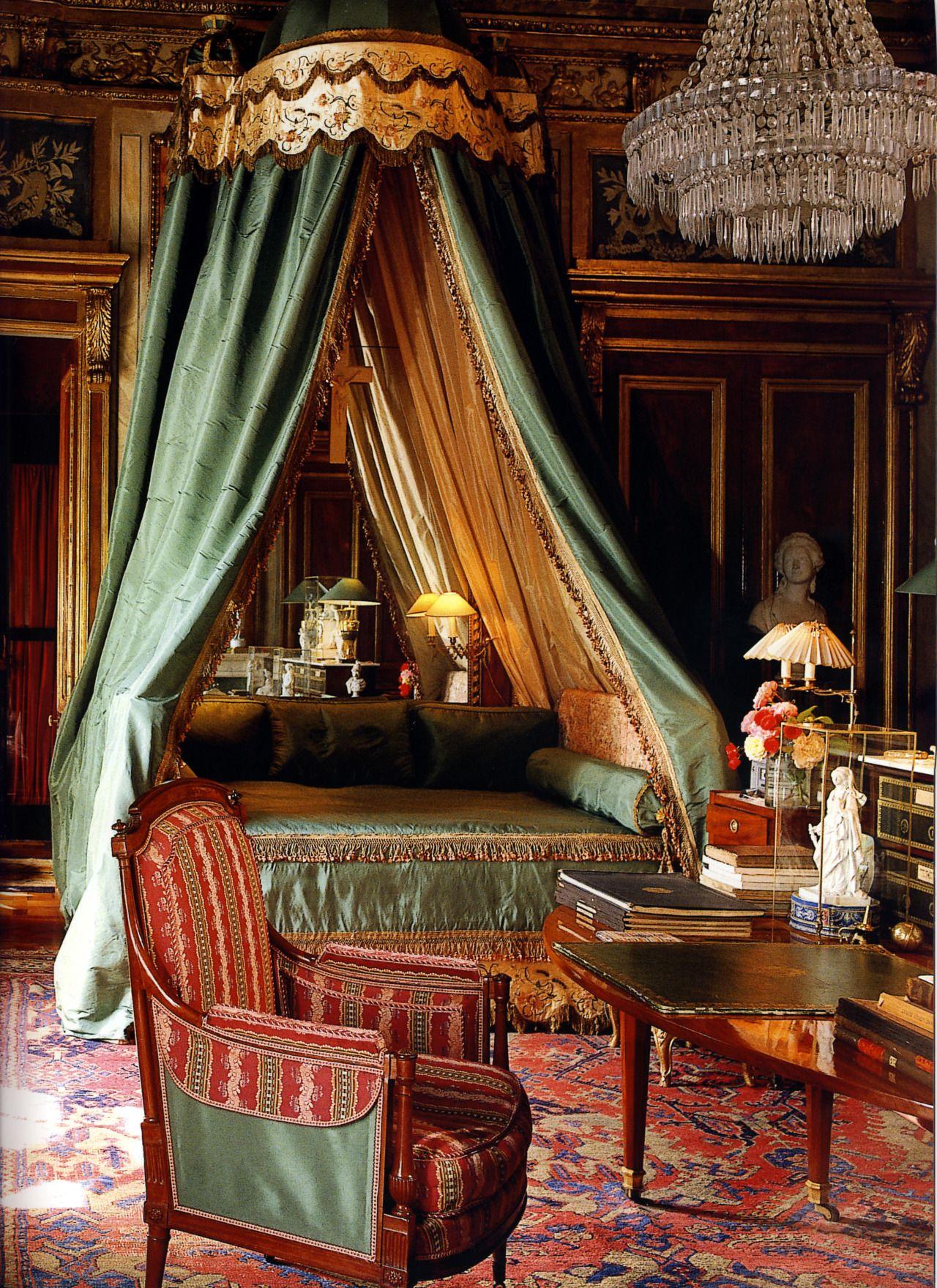 Royal Canopy Uncredited Elegant Bedroom Beautiful Bedrooms