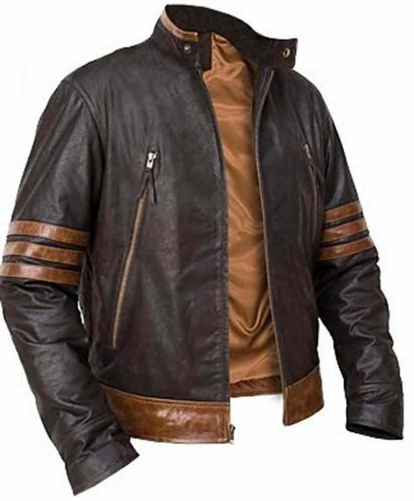 Men Leather Jacket Brand New 100 Genuine Soft Indian Lambskin