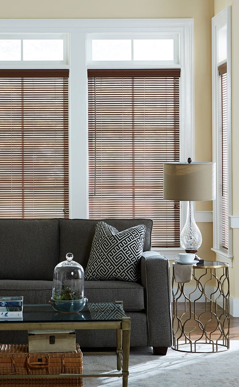 1 Inch Faux Wood Blinds Blinds Com Window Treatments Living Room Blinds For Windows Faux Wood Blinds #wood #blinds #in #living #room