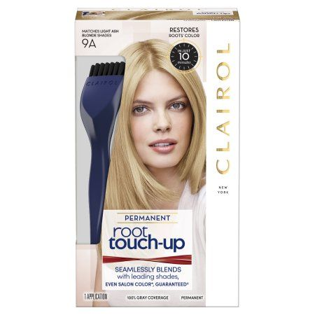 Beauty Permanent Hair Color Light Ash Blonde Clairol Root Touch Up