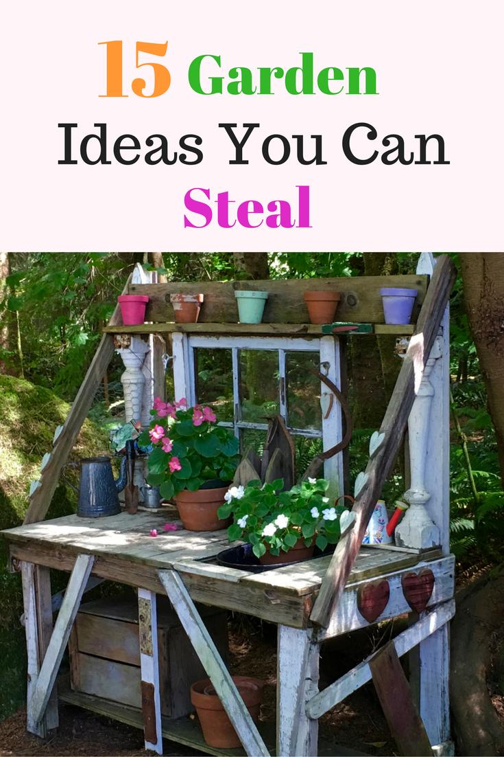 15 Garden Ideas You Can Steal Photos From Garden Tours Backyard Garden Landscape Backyard Garden Layout