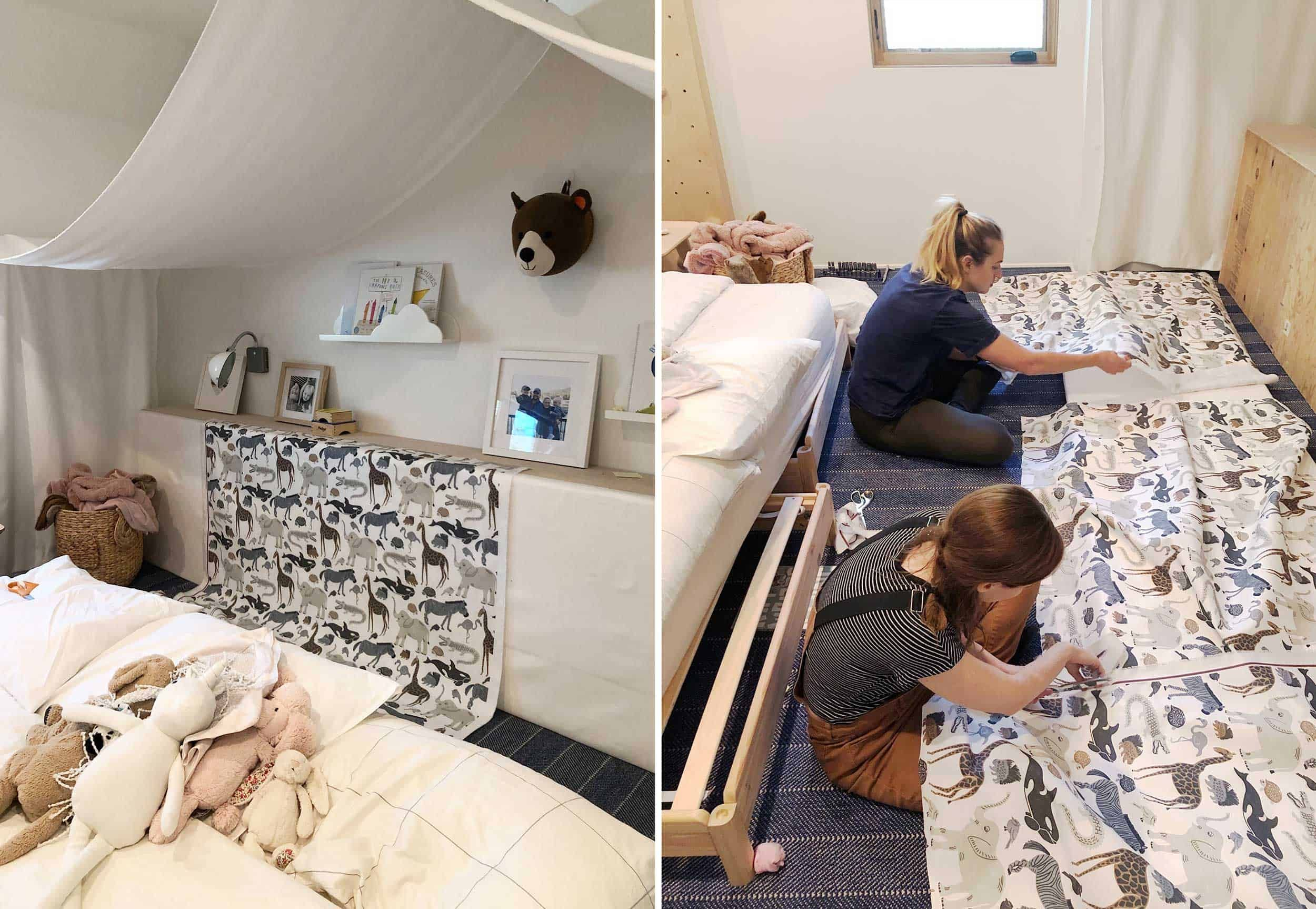 Reveal: A Refresh of the Kids' Room in the Mountain House - Emily Henderson