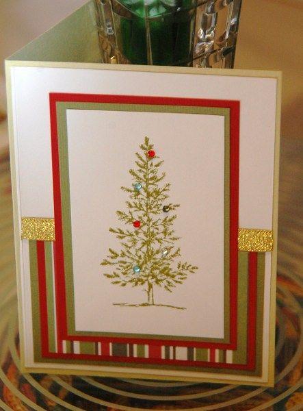 Handmade Christmas Cards Handmade card recycled (2) Scrapbooking