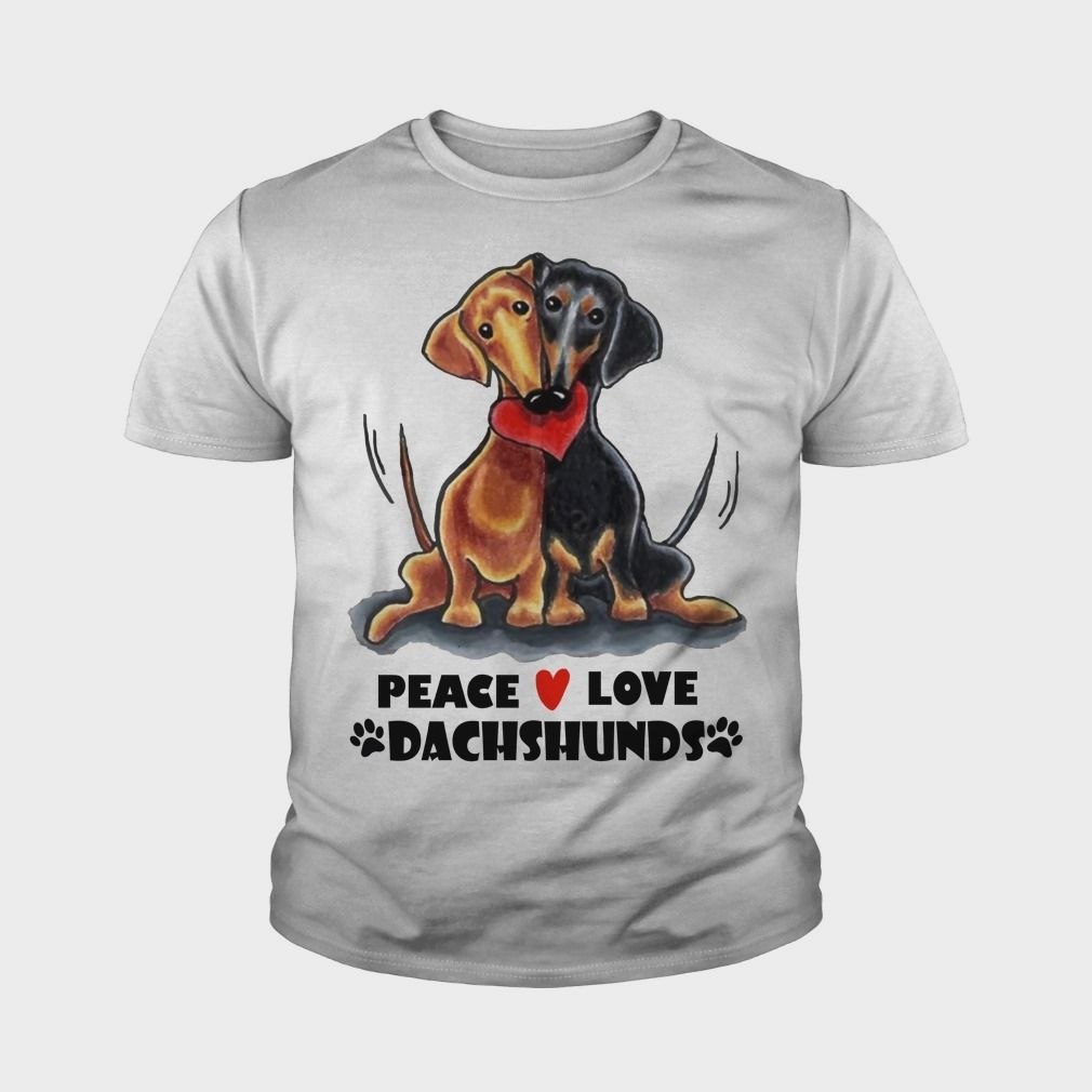 PEACE LOVE DACHSHUNDS, #gift #ideas #Popular #Everything
