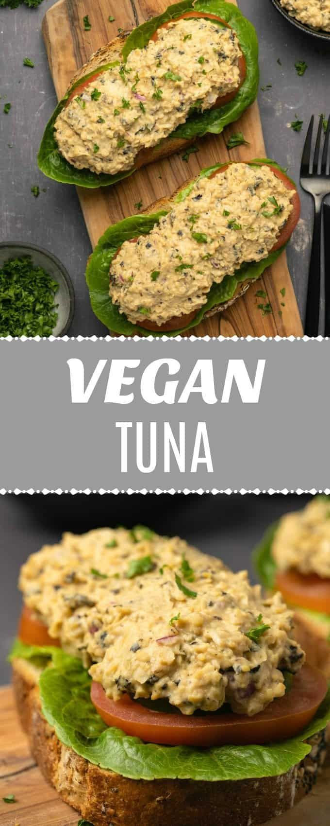 Vegan Tuna #vegetariandish