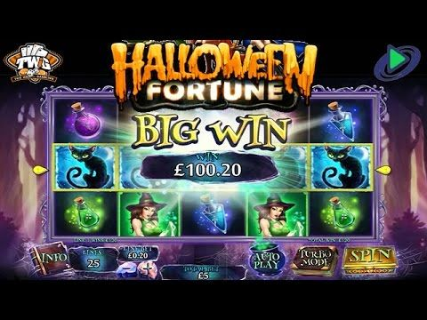 halloween fortune ii online slot from playtech