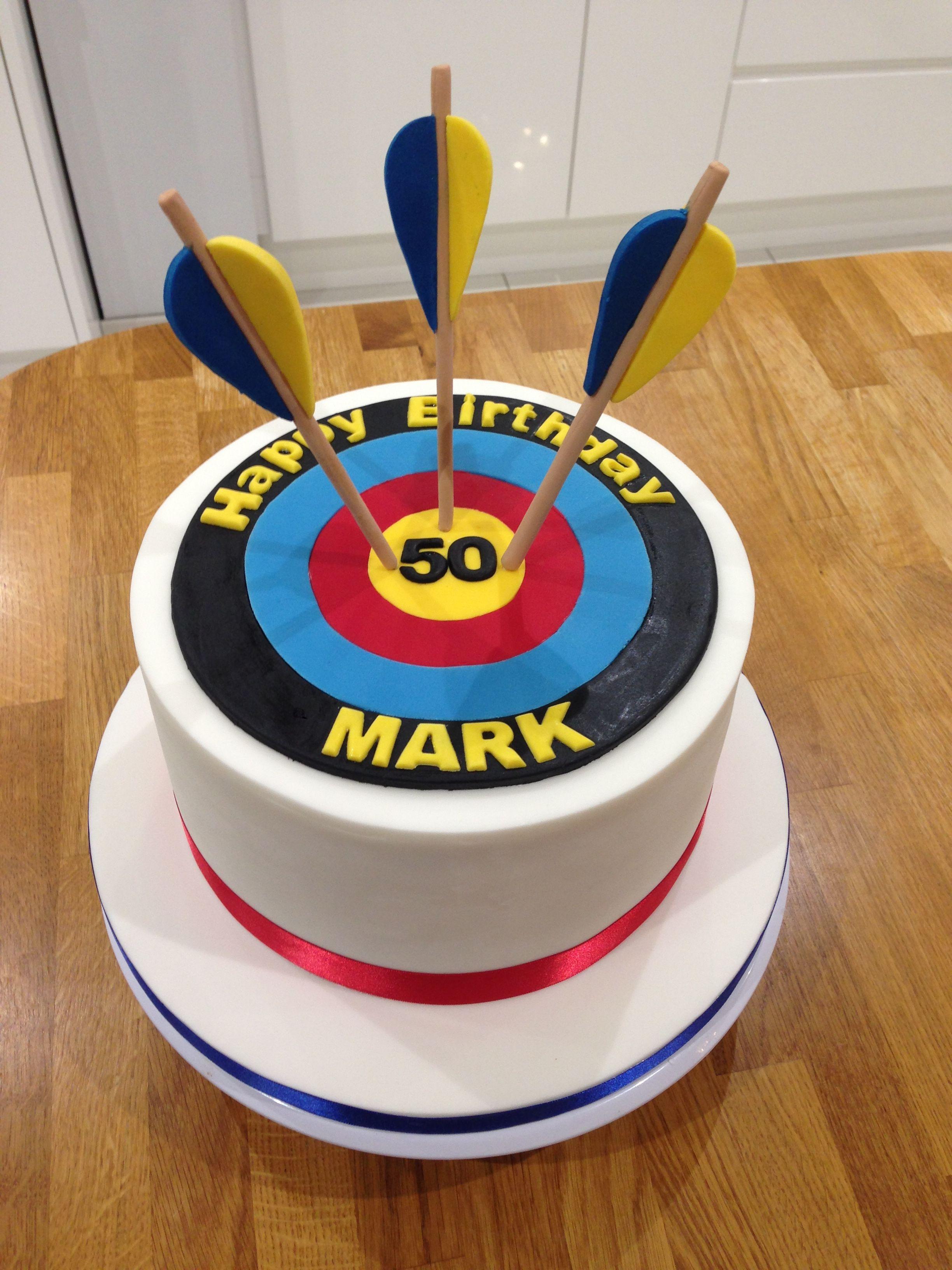 Target Birthday Cake 50th