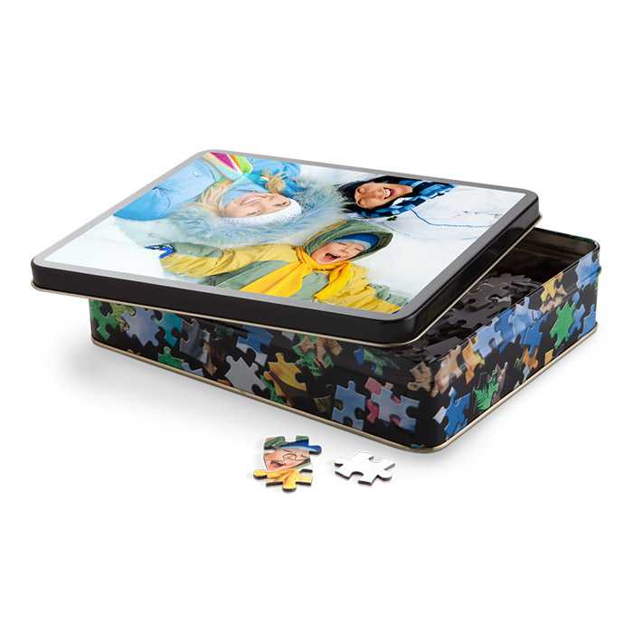 Photo Puzzle With Gift Tin Gifts For Kids Photo Gifts Photo