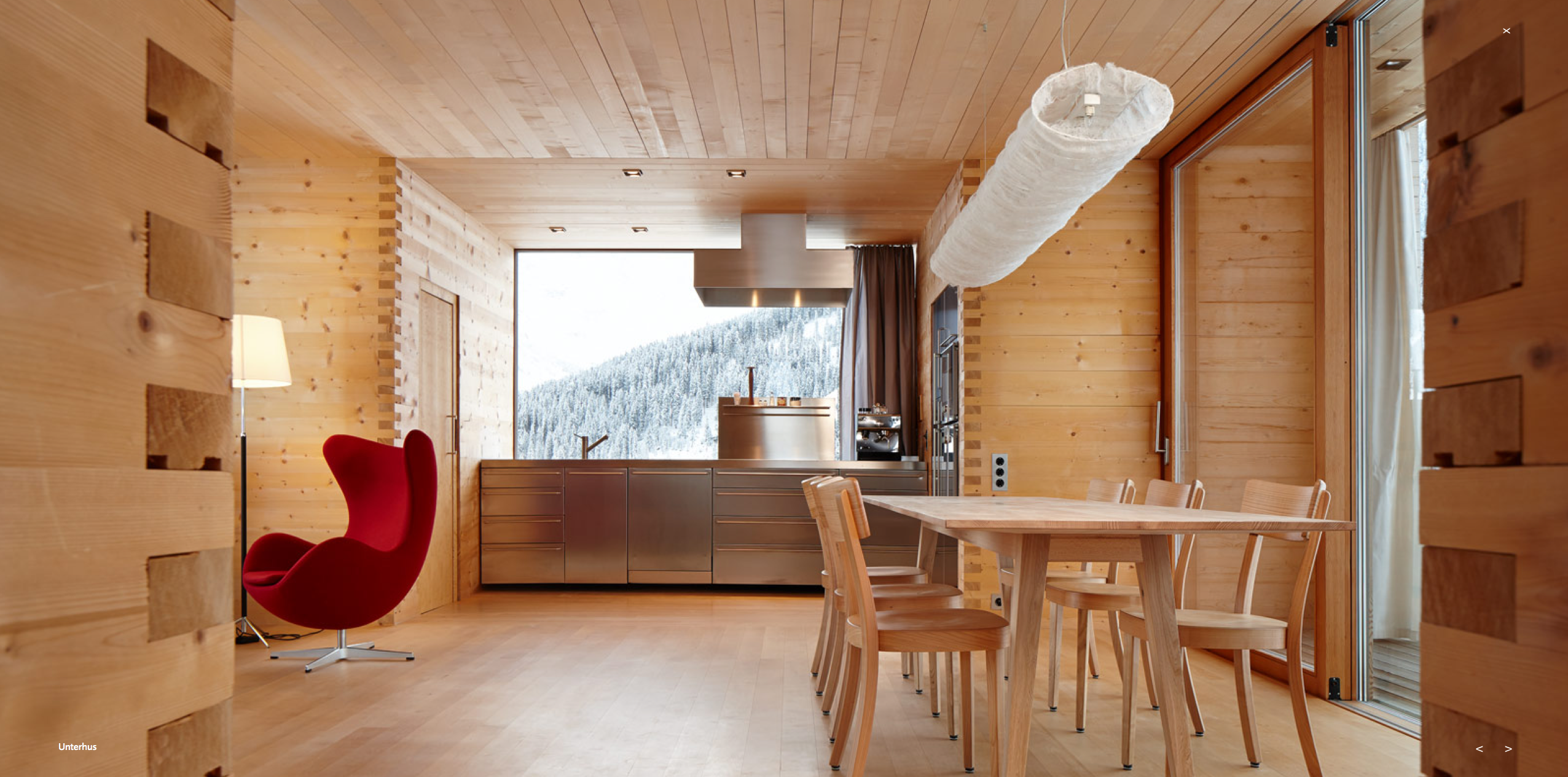 Peter Zumthor Cabins Vals Switzerland Mobilier