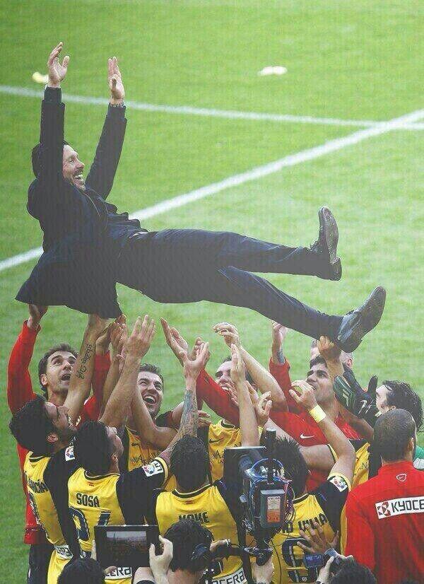 Celebración de la liga