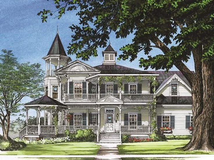 2 story victorian farmhouse plans