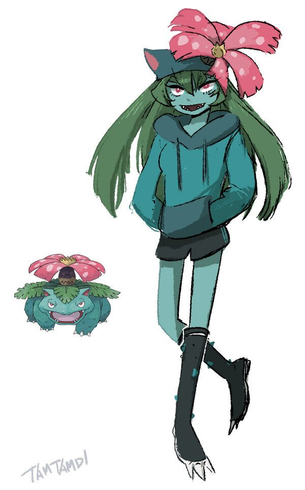 Tamtamdiis working on a little project to take every Pokémon and draw them gijinka style! As of this post, she is up to Politoed, but you can appreciate e