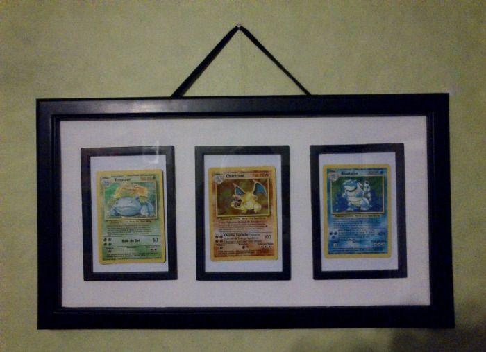 Pokemon card frame | Creativity | Pinterest | Pokémon, Room and Game ...