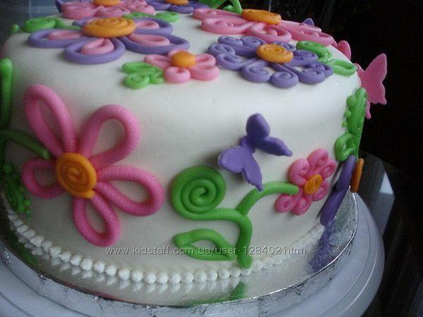 Торт из мастики своими руками фото