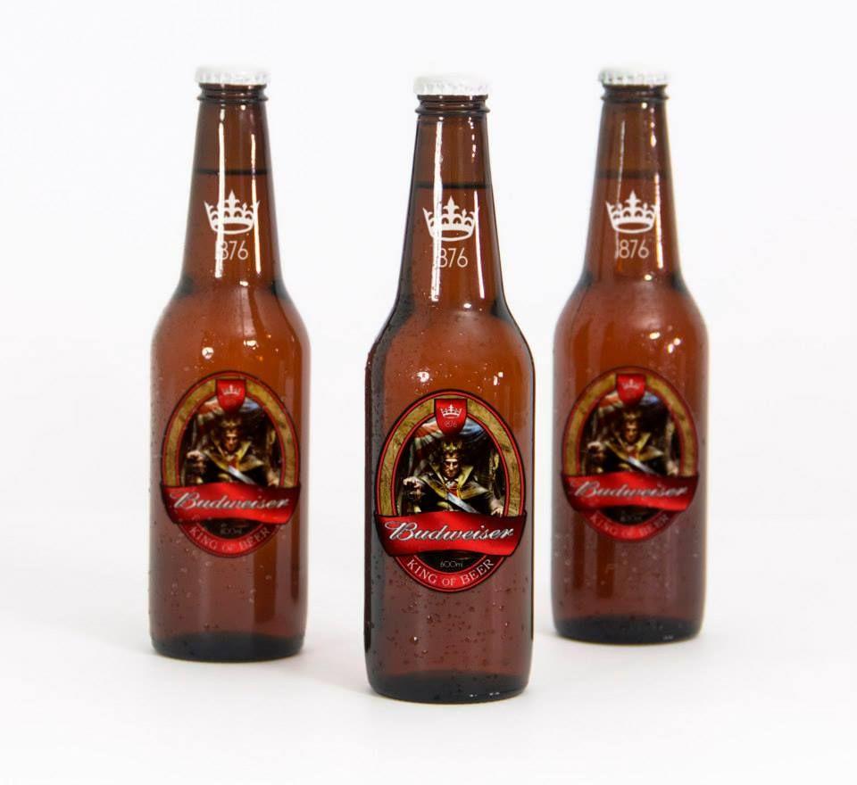 Rótulo Cerveja Budweiser Custom
