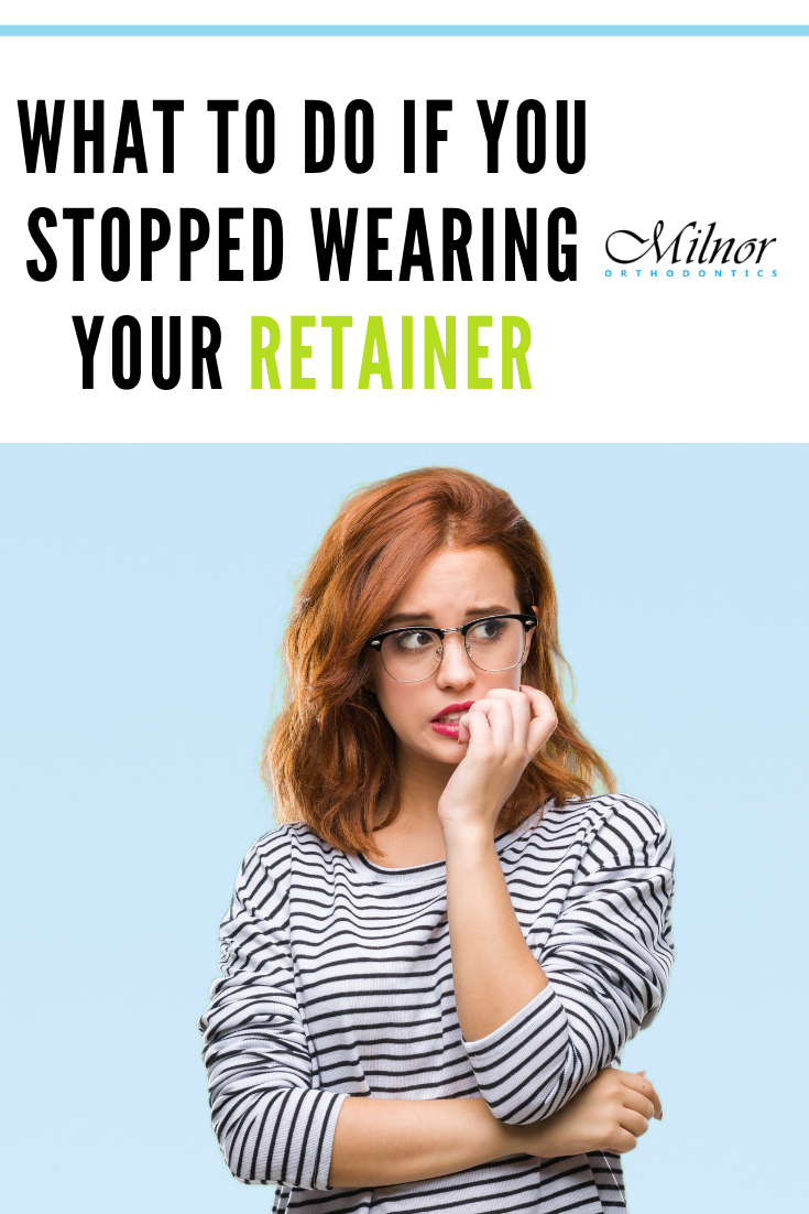 Have you been slacking in your retainer wear? Here's what ...