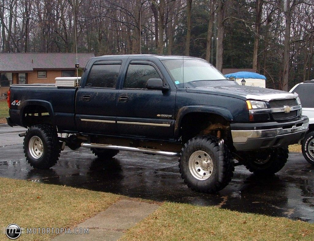 All Chevy chevy 1500 hd : black lifted chevrolet silverado truck   bowtie way of life<3 ...