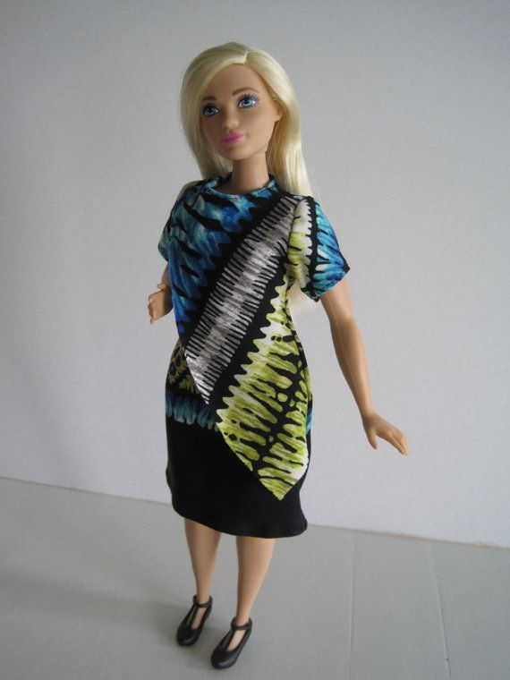 CURVY BARBIE Dress With Overlay Front | barbie | Pinterest | Nähen