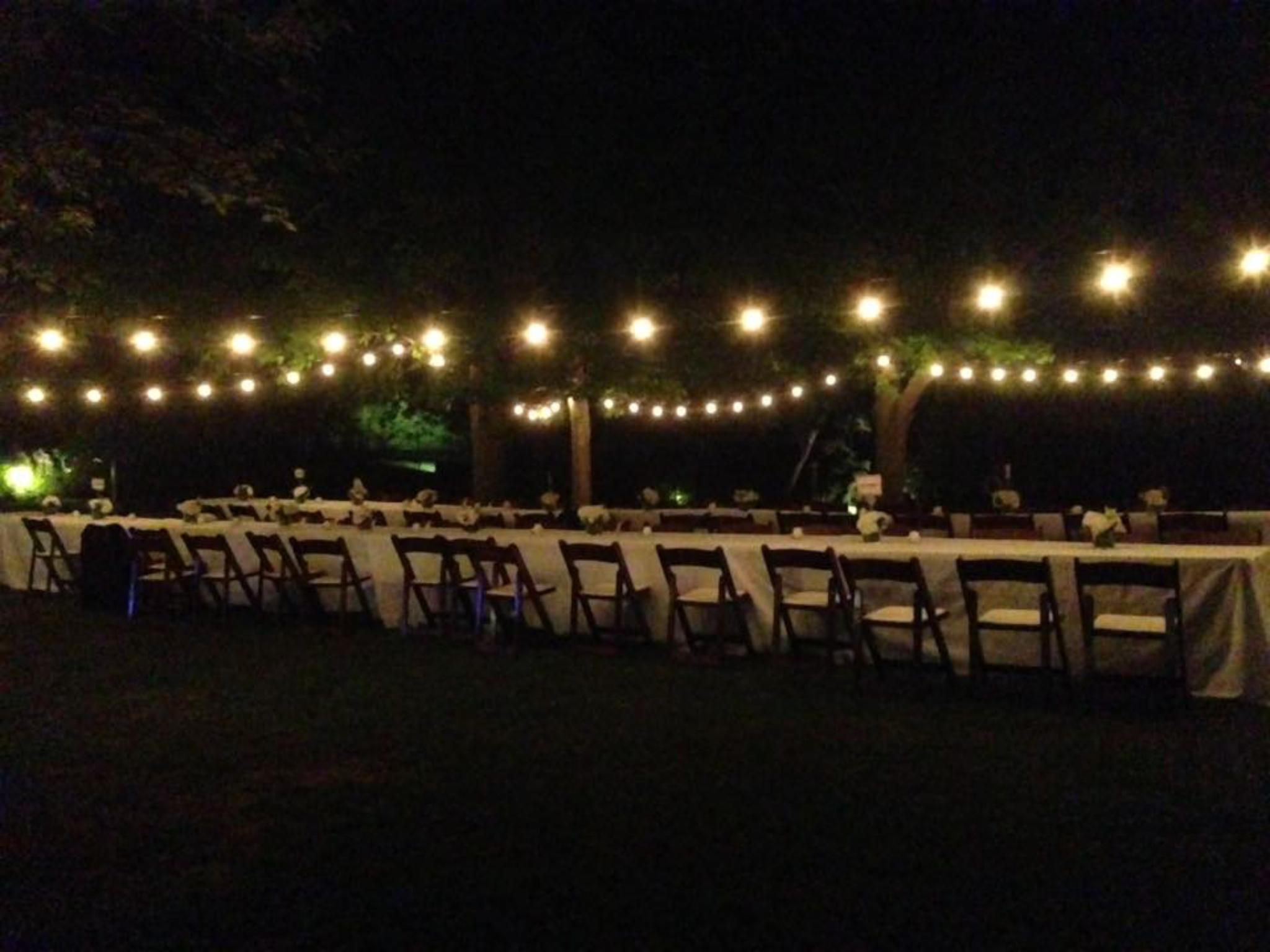 Beautiful wedding outdoor setup...