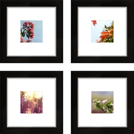 Craig Frames 8x8 Black Picture Frame, Smartphone Collection, Single ...